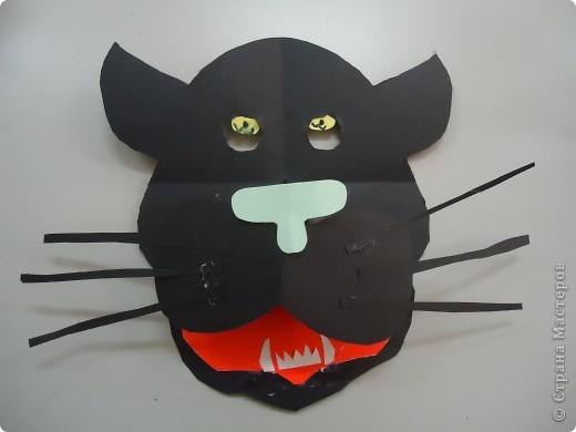 Черные пантеры и другие бумажные маски... фото 2