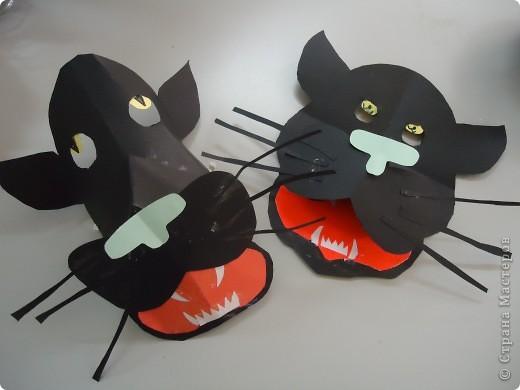 Черные пантеры и другие бумажные маски... фото 1