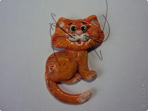 Очень понравился котик Марины Архиповой, решила попробовать. Вот что вышло :) Это мая первая работа, до этого вообще ничего такого не делала. фото 2