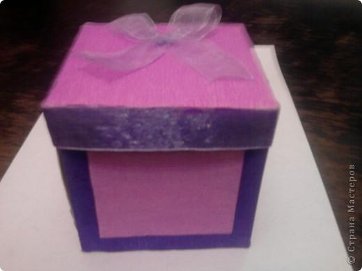 Коробочка с сюрпризом для мамы на 8 марта. фото 1
