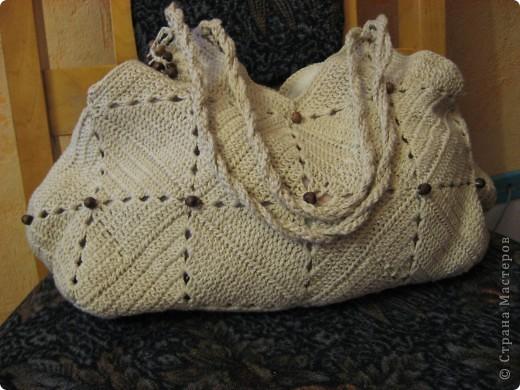 давно хотела связать себе сумочку на лето, наконец-то появился повод :) фото 3