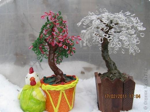 """Дерево любви """"Сакура"""". Дерево любви – символ любви, мощный талисман для зоны любви. Помогает привлечь любовь в свою жизнь, а также укрепить семейные отношения.  фото 7"""