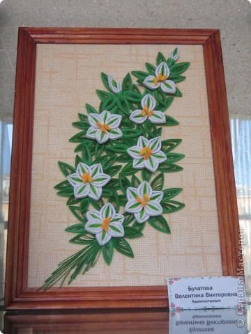Хочу вам показать работы с выставки, которые мне понравились. Первые две фотки с моими работами в технике модульное оригами. фото 7