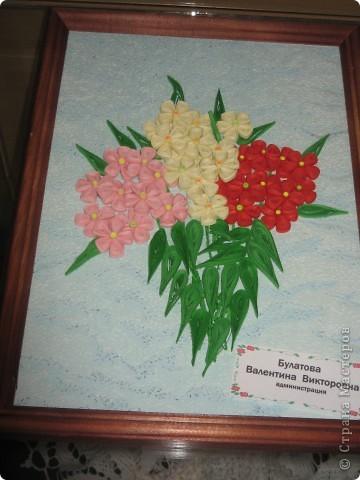 Хочу вам показать работы с выставки, которые мне понравились. Первые две фотки с моими работами в технике модульное оригами. фото 9