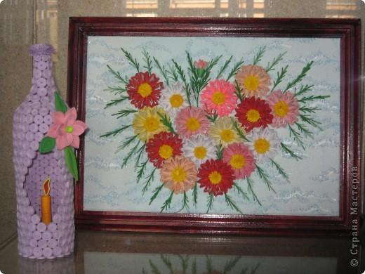 Хочу вам показать работы с выставки, которые мне понравились. Первые две фотки с моими работами в технике модульное оригами. фото 11