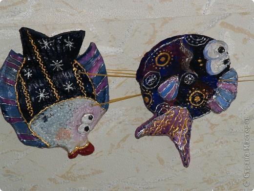 эта рыбёха носит гордое имя Дед.Лепила дочка ей 6 лет фото 3