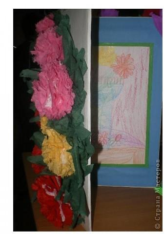 Открытка для мамы (рисуем и оформляем дружной компанией). фото 1