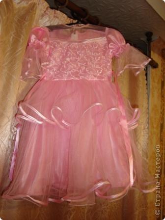 Это платье было решено обновить к утреннику. фото 1