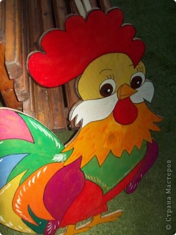 Добро пожаловать в наш сад! Эти прекрасные поделки из фанеры сделаны нашим педагогом по ИЗО Дуркиной Ириной Владимировной. фото 5