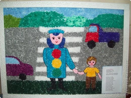 Рисунки и поделки по пдд в детском саду 74