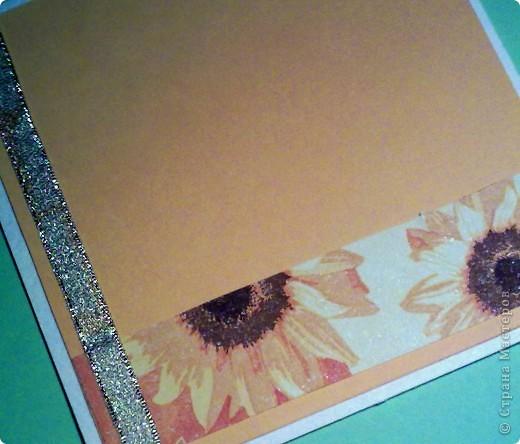 Мастер-класс Открытка Скрапбукинг День рождения Аппликация Мастер- класс для начинающих Бумага Краска Сутаж тесьма шнур фото 6