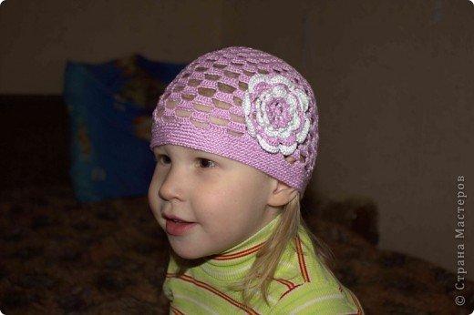 летние шапочки крючком для детей вязание крючком