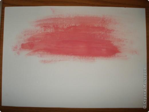 Продолжаем рисовать по урокам Боба Росса.  Для рисования нам понадобится Бумага для акварели формата А-3,гуашь художественная,кисти:большая щетина(у меня плоская №12) и маленькая(у меня пони №2) фото 2