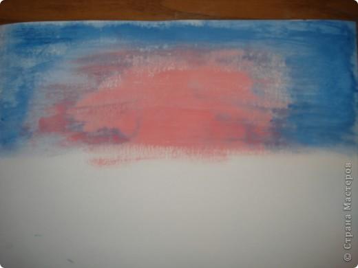 Продолжаем рисовать по урокам Боба Росса. Для рисования нам понадобится Бумага для акварели формата А-3,гуашь художественная,кисти:большая щетина(у меня плоская №12) и маленькая(у меня пони №2) фото 3