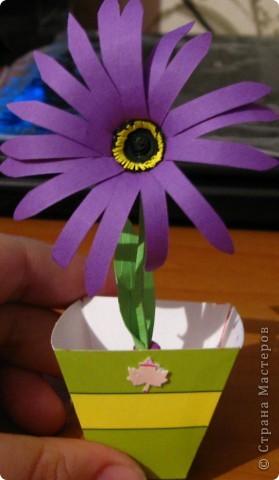 какой то цветочек, делала по фото фото 2