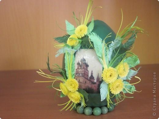 Вот такие пасхальные яйца мы делаем с моими ученицами. фото 2