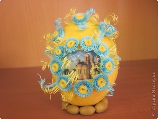 Вот такие пасхальные яйца мы делаем с моими ученицами. фото 3