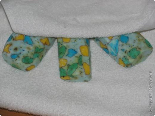 Очень понравились мыльные камушки от Vivien . Делала по очень подробному МК http://stranamasterov.ru/user/12953. Получилось у меня по своему. Так как использовала другие красители и глину. фото 4