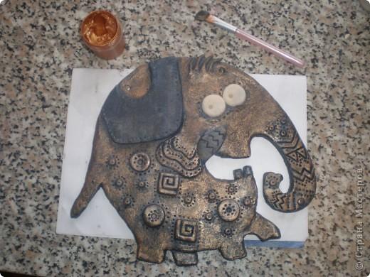 Хочу поблагодарить Инну под логином  Inna-mina  за возможность познакомиться с этим замечательным слоном. Для меня это была любовь с первого взгляда и я не устояла, чтобы не повторить. http://stranamasterov.ru/node/88124  фото 4