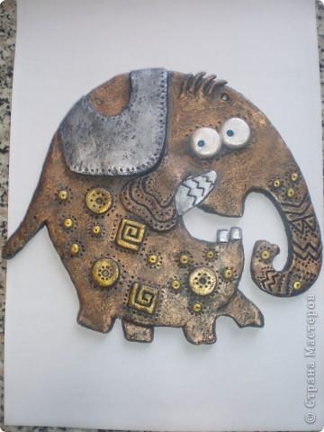 Хочу поблагодарить Инну под логином  Inna-mina  за возможность познакомиться с этим замечательным слоном. Для меня это была любовь с первого взгляда и я не устояла, чтобы не повторить. http://stranamasterov.ru/node/88124  фото 5