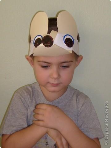 После посещения театра моего сына Егора прорвало на домашние выступления, а меня на изготовление масок. фото 7