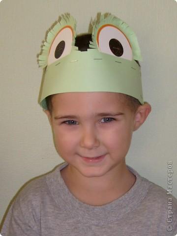 После посещения театра моего сына Егора прорвало на домашние выступления, а меня на изготовление масок. фото 4