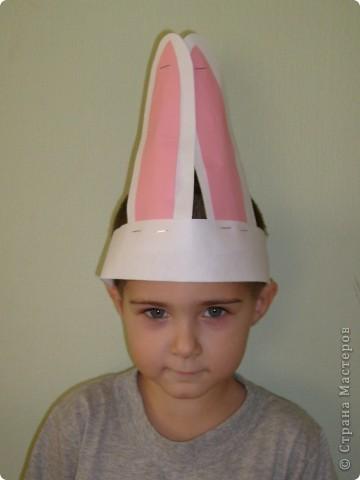 После посещения театра моего сына Егора прорвало на домашние выступления, а меня на изготовление масок. фото 2