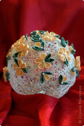 Вот такой получился у меня шар интерьерный для мамы в спальню! фото 1