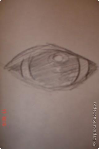 Рисуем лошадь.На листе бумаги примерно посередине нарисовать трапецию,треугольник, полукруг и круг. фото 6