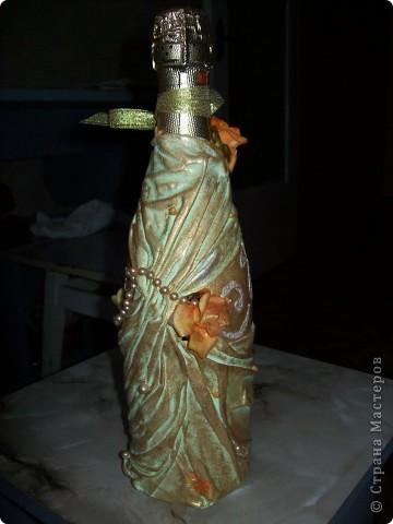 Первая бутылочка была сделана на заказ....желание заказчика видеть в бутылке спартанца))))...правда был здесь еще и шлем..но я его забыла сфоткать...вот, все что есть. фото 4