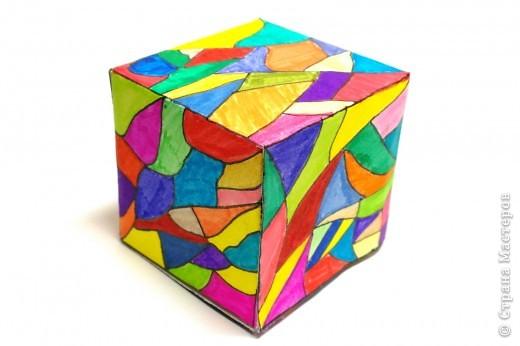 Мозаика в кубе фото 1
