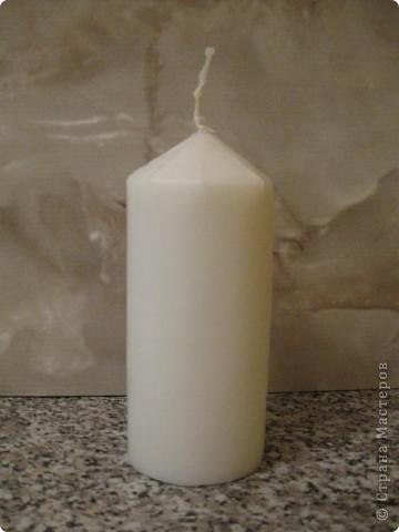 Не всегда можно купить свечу для оформления свадебного набора, а иногда очень нужно, но увы... Вот и возникла у меня идея сделать её самой. фото 20