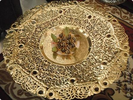 """Сувенирчики сделаны в традиционном алжирском стиле,Глиняная основа посыпанная песком из Сахары и с камнем который здесь называют """"Розы песчаные"""" и деревце -пальма фото 13"""