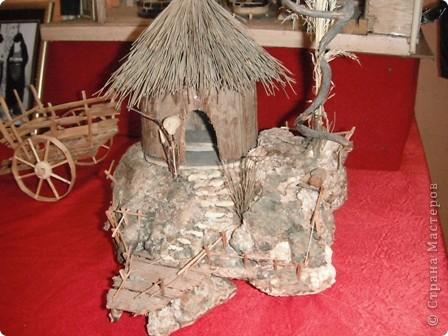 """Сувенирчики сделаны в традиционном алжирском стиле,Глиняная основа посыпанная песком из Сахары и с камнем который здесь называют """"Розы песчаные"""" и деревце -пальма фото 18"""