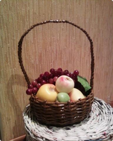 Корзинка с фруктами.  фото 1