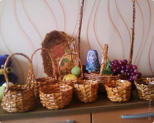 Корзинка с фруктами.  фото 3