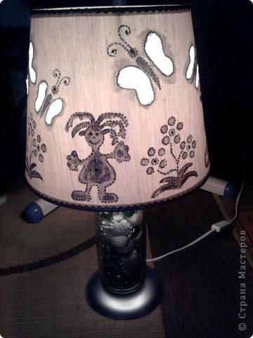 Настольная лампа для племяшки фото 4