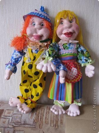 """Давно хотела научиться делать кукол в технике """"текстильная скульптура"""", ваш сайт мне очень помог в этом деле!Спасибо! фото 1"""