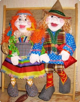 """Давно хотела научиться делать кукол в технике """"текстильная скульптура"""", ваш сайт мне очень помог в этом деле!Спасибо! фото 3"""