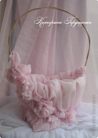 Свадебная корзина фото 1