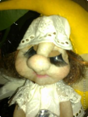 ангелочек-сплюшка(по мастер-класс Ликмы) фото 1