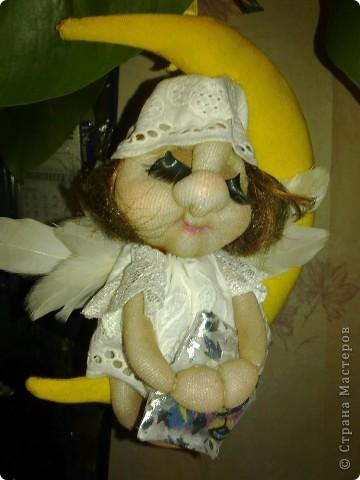 ангелочек-сплюшка(по мастер-класс Ликмы) фото 2