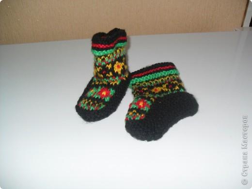 Усть-Цилемские носки. фото 7