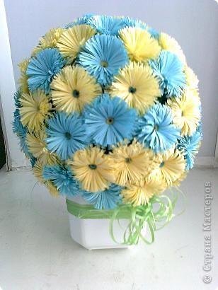Цветочные шары фото 2