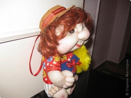 Куклы Шитьё Домовенок по МК Оксаны Третьяковой Капрон фото 2
