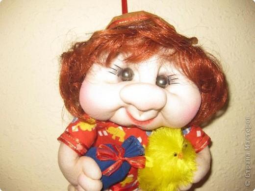 Куклы Шитьё Домовенок по МК Оксаны Третьяковой Капрон фото 5