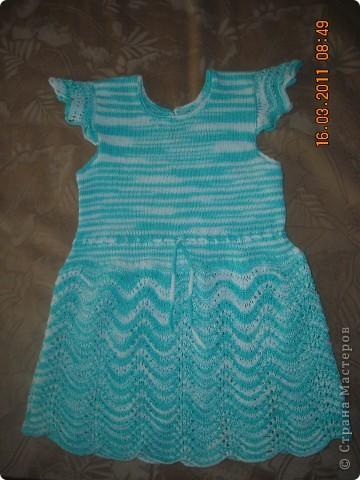 Платье для дочурки