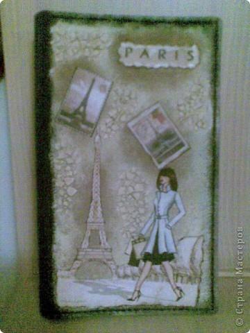 """Визитница """"Люблю Париж!"""" для влюбленной в Париж)"""