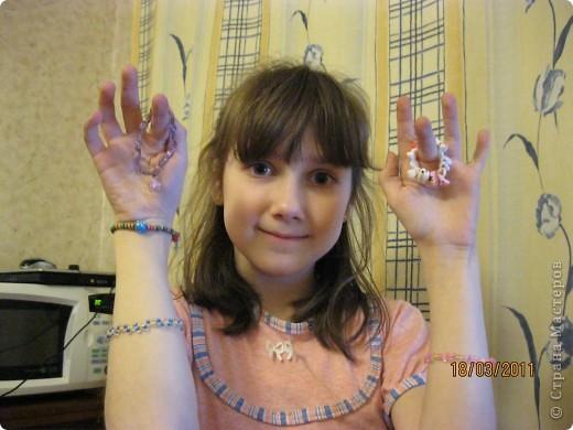 Вот такие браслетики, и не только, у меня получились! фото 1