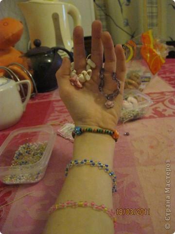 Вот такие браслетики, и не только, у меня получились! фото 16